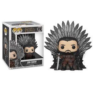 Funko Jon Snow Sitting On Iron Throne
